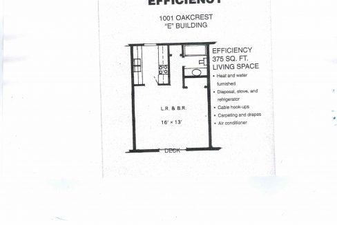 1001 Floor plan