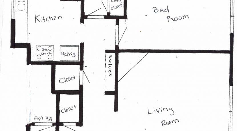 612 #2 Floor plan
