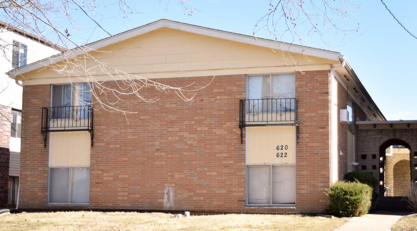 620 S. Johnson St. #5, 6, 7, 8 – 1 Bedroom
