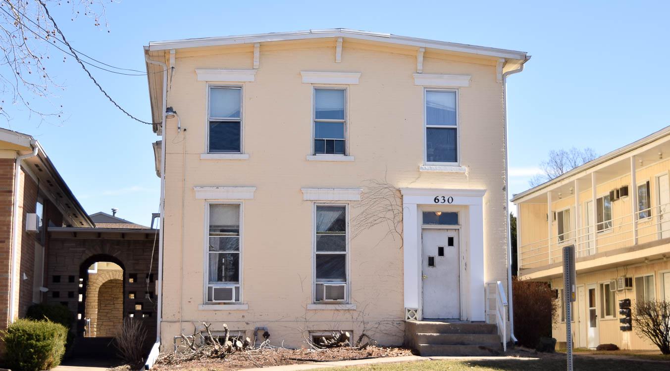 630 S. Johnson St. #4 – 1 Bedroom